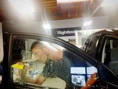 Enroll now in one of Rightlook's Window Tinting Training Courses to develop the skills you need to become a professional window tinter! #cartint #windowtinting #automotivedetailing