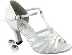 Amazon.com: Very Fine Women's Salsa Ballroom Tango Latin Dance Shoes Style 16612 Bundle with Plastic Dance Shoe Heel Protectors 2.5 Inch Heel: Shoes