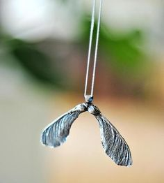 Double Sycamore Necklace by Justine Brooks Design on Scoutmob Shoppe