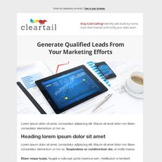 Digital Marketing/crm Consultant Email Template by charlim888