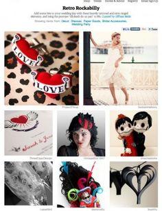 Love the cuff links, Rockabilly Wedding, Rockabilly Pin Up, Rockabilly Ideas, Wedding Prep, Wedding Planner, Dream Wedding, Spring Wedding, 10th Wedding Anniversary, Wedding Inspiration