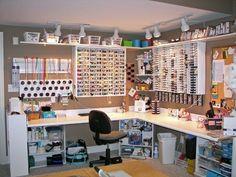 Craft room organizer kleine Werkstatt    {[ ~&    c;