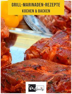 Grill Marinade - Die 6 besten Rezepte #bbq, #grill, #summer, #meat, #tasty,