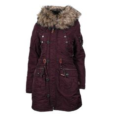 Khujo winterjacke damen mantel clam snow