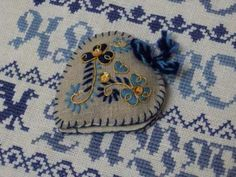 inspired by Portuguese Viana's embroidery