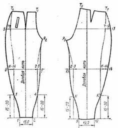 Брюки это. Построение основы конструкции женских брюк.Широкие свободные брюки прямого силуэта с мягкими складками от пояса на передних половинках. Sewing Pants, Sewing Clothes, Diy Clothes, Sewing Coat, Barbie Clothes, Easy Sewing Patterns, Clothing Patterns, Dress Patterns, Coat Patterns