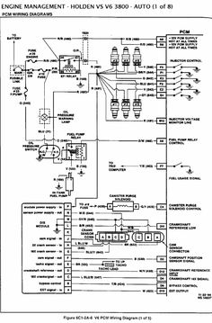 10 VS V6 PCM ECM ideas | electrical problems, automotive repair, diagram | Vs Commodore Wiring Diagram |  | Pinterest
