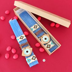 Evil Eye Jewelry, Evil Eye Necklace, Greek Easter, Greek Evil Eye, Greek Jewelry, Evil Eye Pendant, Summer Jewelry, Candles, Handmade