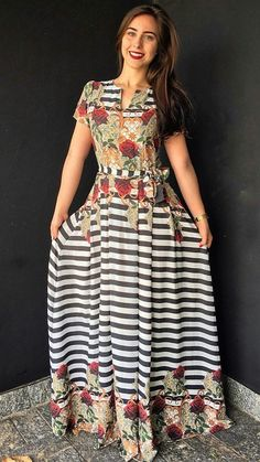 Modest Outfits, Modest Fashion, Fashion Dresses, African Wear, African Fashion, Trend Fashion, Womens Fashion, Mode Style, Indian Dresses