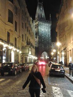 paseando por el old town de noche.. tan bello !