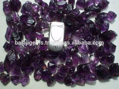 Natural Raw Purple Amethyst Crystal Rough Stones Wholesale