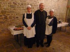 The cook and the servants were also dressed as in 1920