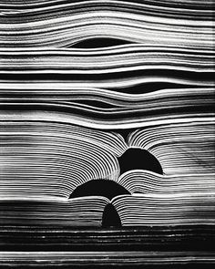 Inventive Examples of Abstract Photography Kenneth Josephson: Untitled - from the series Books , 1988 .Kenneth Josephson: Untitled - from the series Books , 1988 . Abstract Photography, Creative Photography, Photography Books, Texture Photography, Line Photography, Pattern Photography, Photography Ideas, Conceptual Photography, Sequence Photography