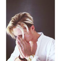 #hair style #blonde Platinum