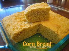 SuperRecipes~Quick and Easy Corn Bread ~ Super Mom Tested