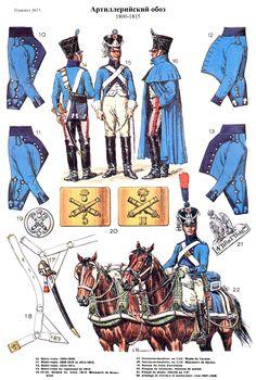 Trein d`artillerie 1800-1815 (pl 55) 2