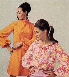 Vintage Fashions, 1969 60s And 70s Fashion, Fashion Vintage, Vintage Outfits, Vintage Models, Vintage Barbie, Fashion Photo, Spring Summer Fashion, Superstar, 1970s