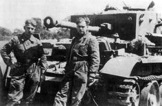 Two Members of the Waffen Panzer SS Div. Hitlerjugend posing with a British Cromwell tank they knocked out with their Panther Ausf.A near Caen, France, Pin by Paolo Marzioli Cromwell Tank, Paratrooper, Infancy, Us Army, Thing 1 Thing 2, World War Two, One Pic, Ww2, Division
