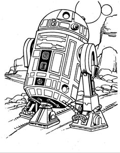 118 Best Star Wars Coloring Pages Images On Pinterest Star Wars