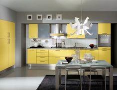 Cozinha Amarela Clara