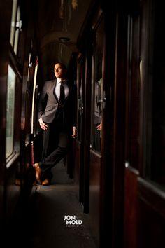 Sam++Danny+Vintage+Railway+Shoot+//+Engagement