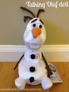 Disney, FROZEN, FROZEN the movie, Walmart toys, Olaf toy, Elsa toy #FrozenFun, #shop, #cbias Disney Olaf, Disney Fun, New Disney Movies, New Movies, Frozen Birthday Party, Frozen Party, Christmas Gifts For Kids, Holiday Crafts, Christmas Ideas