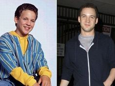 Then And Now. Boy Meets World