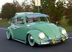Volkswagen Beetle, # green ... XBrosApparel Vintage Motor T-shirts, VW Beetle & Bug T-shirts, Great price