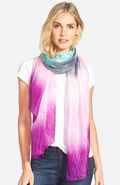 La Fiorentina Ombré Silk Scarf available at #Nordstrom