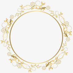Moldura Flores png sombreamento circular., Moldura, A Circular Frame, Moldura De FloresImagem PNG