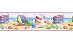Beach BH89000B Wallpaper Border