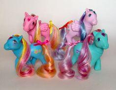 ✩ My Little Pony ✩ Complete Set of Princess Brush 'N Grow Ponies! My Little Pony Dolls, Vintage My Little Pony, My Little Pony Drawing, Retro Toys, Vintage Toys, Childhood Toys, Childhood Memories, Max Toys, Dinosaur Toys