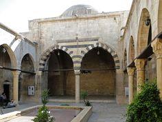 Courtyard of Bimaristan Argun, Aleppo, Syria