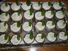 Mint julep cupcakes!!!