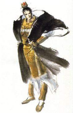 illustration   吕布   三國志 Three Kingdom   Chen Uen 鄭問