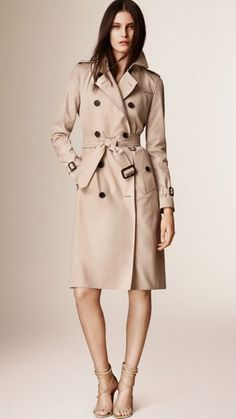 Stone The Kensington – Extra-long Heritage Trench Coat 1