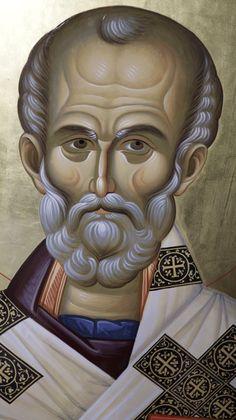 Orthodox Icons, Statue, Portrait, Image, Art, Saint Nicholas, Art Background, Headshot Photography, Kunst
