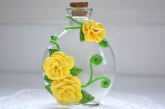 Hey, I found this really awesome Etsy listing at https://www.etsy.com/listing/218110460/sculpted-flowers-flower-vase-polymer