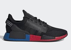 le fashion adidas The tech revolution has come for your shoes, and it's glorious. These adidas Shoes are the next generation of a line that's always been about progress. Adidas Nmd R1, Your Shoes, Men's Shoes, Shoes Style, Shoes Men, All Black Sneakers, Black Shoes, Baskets, Running Shoes For Men