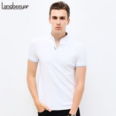 Price: US $10.44 / piece  -5%  22h:51m:57sHot Sale 2017  New Summer Fashion Mens T Shirts  V-Neck Slim Fit Short Sleeve T Shirt Mens Clothing Trend Casual Tee Shirt M-5XL