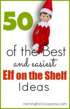 50 Fun And Easy Elf On The Shelf Ideas For Christmas! by ShantaeMeier