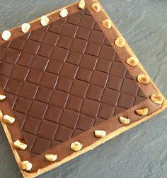 J'en reste baba: Tarte praliné et chocolat