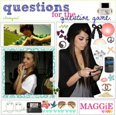 """""""questions for the question game!"""" by the-polyvore-tipgirls ❤ liked on Polyvore"""