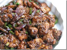 Recipe for Chili Chicken, Indian Style.