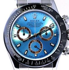Rolex Daytona Steel Platinum Face / Black Ceramic Bezel - MINT !  #Rolex #Dress