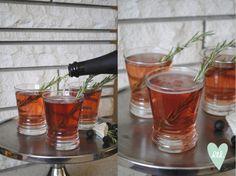 Pomegranate Rosemary Royale