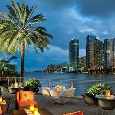 Mandarin Oriental Hotel in Miami, Florida.