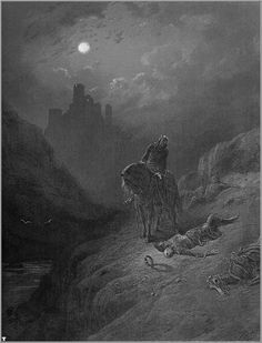 From Idylls of the King - Gustave Dore