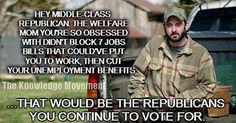 Ignorant Longtime Republicans Still Believing That the G.O.P. Gives a Rats Ass or a Dilly Damn About Them...Its Laughable !!!