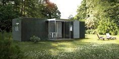 Casas Cube の モダンな 家 Cube Basic de 50 m2
